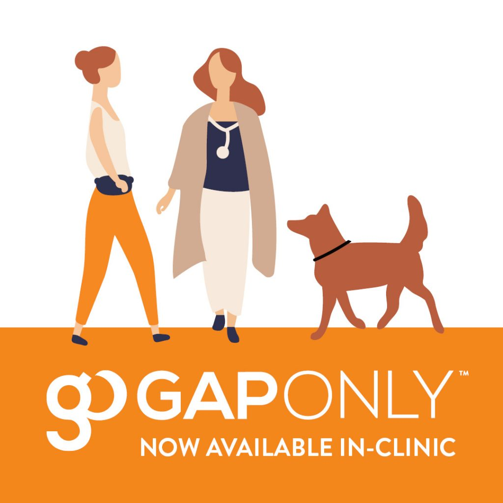 Claim on the spot and only pay the gap with GapOnly